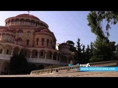 AIGINA - Αίγινα Argosaronikos Taj Mahal, Greece, Mansions, House Styles, Building, Travel, Home Decor, Greece Country, Viajes