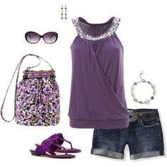 In Moda For Me: Moda para verano . #summer fashion #womens fashion