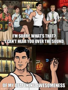 archer- greatest tv show on fx starting mid January. Definitely catch it, you will cry of laughter