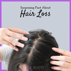 Surprising Facts About Hair Loss  1. Heredity is the most common cause of hair loss. It is known medically as androgenetic alopecia. 2. Hereditary baldness is not caused by the hair falling out but rather by normal hair gradually being replaced by finer thinner hairs.  3. You must lose over 50 percent of your scalp hairs before it is apparent to anyone.  4. More than 50 percent of men have male pattern hair loss by the age of 50.  5. Forty percent of women will have female pattern hair loss… Androgenetic Alopecia, Hair Facts, Hair Falling Out, About Hair, Hair Loss, Age, Content, Female, Pattern