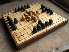 This is a really handsome hnefatafl set.