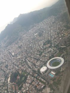 This pic was take from the plane going to Rio de Janeiro. I had the priviledge to watch Gun's n Roses there too!
