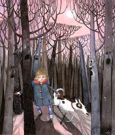 'the door in the tree: the magicians house quartet' David Roberts