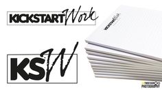 Here's a new logo design and notepads printed hot off the press today for a startup - www.kickstartwork.com.au  Check them out if you're after a new career path or need help with your employment opportunities.  Get in touch with antmDesign and Photography today for your design print web and photography needs!  #logodesign #stationeryprinting #graphicdesignermelbourne #kickstartwork #antmdesign