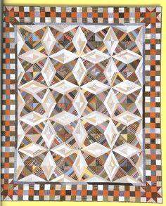 Virginia Bound, Bonnie Hunter pattern, in Scraps and Shirttails book