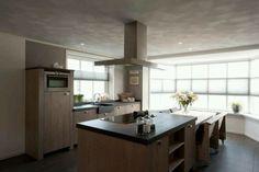 landelijke keukens met kookeiland - Google zoeken