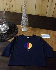 Hot Air Ballon Long Sleeve T off to London for Christmas.