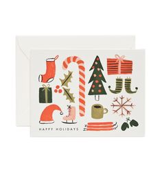 Rifle Paper Co. - Favorite Things Available as a Single Folded Card or a Boxed Set of 8