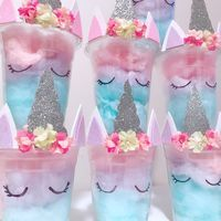 Cotton Candy Unicorn Party Favours.