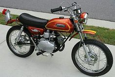 1972 YAMAHA JT2 MINI ENDURO 60 MINICYCLE