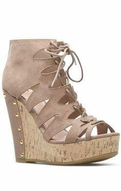 Zuska Wedge Heels ♥
