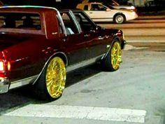 Box Chevy Caprice Classic Sitting On Dub 28 S Big Rims