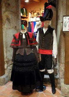 Traxe tradicional galego