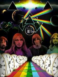 1973: Dark Side of The Moon is released by Pink Floyd, which becomes the #1 album in the U.S. and #2 in the UK.