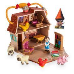 Belle se sentira chez elle dans ce délicat petit ensemble de jeu miniature. L'ensemble s'ouvre pour laisser place à une figurine de la princesse accompagnée de deux fauteuils, d'une table, de livres et d'une étagère. L'ensemble comprend cinq animaux ainsi qu'une figurine mystère.