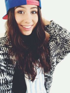 Lauren Cimorelli's selfie. I think it's a new snapback haha