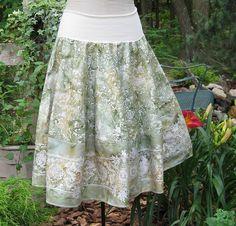 amazing batik skirt
