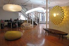 David Trubridge installation at the Wexler Gallery in PA
