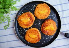 SERTOP - placki z batatów Cornbread, Muffin, Breakfast, Ethnic Recipes, Food, Millet Bread, Morning Coffee, Muffins, Meal