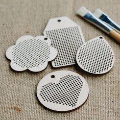 Cross Stitch Set of Blanks