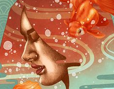 Goldfish is now up on my Behance page!