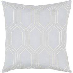 Langley Street Skyline Linen Throw Pillow