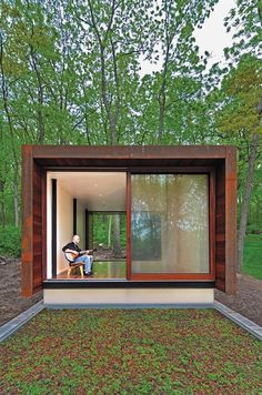 Studio for a Composer, Spring Prairie, Wis. - Award Winners, Outbuildings, Live-Work, Architects - Custom Home Magazine