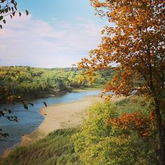 View of the Des Moines River from Iowa's Ledges State Park. Share your #midwestmoment on Instagram: http://www.instagram.com/midwestlivingmag