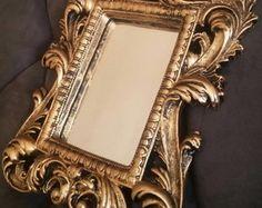 Espelho Moldura Veneziana Dourada