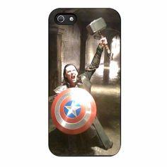 Loki Captain America And Thor iPhone 5/5s Case
