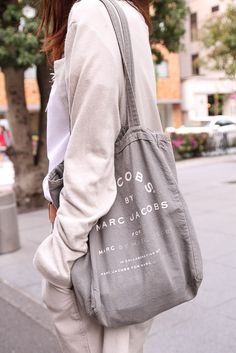 I have lately been all about the canvas satchel