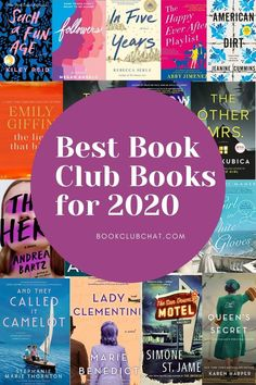 Here's my huge list of must read book club picks for Featuring all kinds of genres including women's fiction, mysteries, thrillers, contemporary fiction and historical fiction. ////You can find your book just by clicking on the image Best Book Club Books, Book Club List, Book Club Recommendations, Book Club Reads, Book Lists, The Book, Best Teen Books, Great Books To Read, Good Books