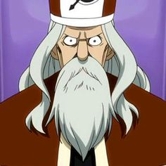 Faust (in Japanese: ファウスト Fausuto) is the main antagonist of the Edolas arc in the anime/manga series Fairy Tail. He is the former King of Edolas, banished and succeeded by his disowned son, Mystogan. He is the Edolas counterpart of Makarov Dreyar. He is voiced by Shinpachi Tsuji in the Japanese version of the anime and R. Bruce Elliot in the English version, both of whom also voice Makarov. Anime Characters List, Natsu And Gray, Elderly Man, Dragon Rider, Fairy Tail Manga, Erza Scarlet, Dragon Slayer, Character Art, Fan Art