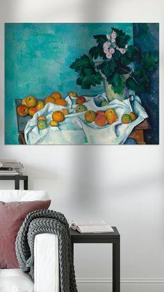 Kunstwerk: 'Paul Cézanne. Stilleven Met Appels En Een Pot Rozen' van uit de oude meesters collectie