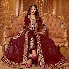 Anarkali Salwar Kameez Designer Indian Salwar Kameez Casual Suit Pakistani Salwar Suit Party Suit _TH by Niveetafashions on Etsy