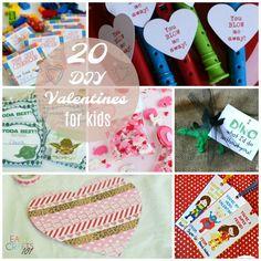 20 DIY Valentines for Kids - Easy Crafts 101
