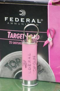 Handmade Shotgun Shell Keychain Pink with by LadyAimOutfitters, $5.00