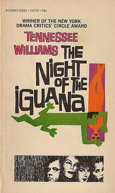 Saul Bass(cover art), Night of the Iguana (1964