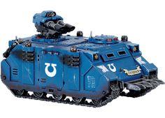 Space Marine Razorback Warhammer 40000, Razorback Painting, Warhammer Models, Tank Design, Battle Tank, The Grim, Space Marine, Games, Vehicles