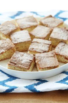 Sweet dreams are made of this (churro cheesecake bars)