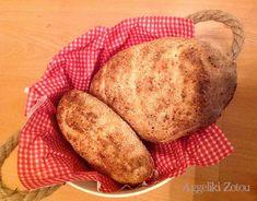Ψωμί νο1 - Dairy-free Dairy Free Recipes, Crackers, Free Food, Potatoes, Bread, Vegetables, Pretzels, Potato, Brot