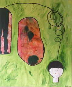 ver_flucht, Acryl auf Leinen, 100x120 cm, 2012 Painting, Photography, Linen Fabric, Idea Paint, Art Ideas, Painting Art, Paintings, Paint, Draw
