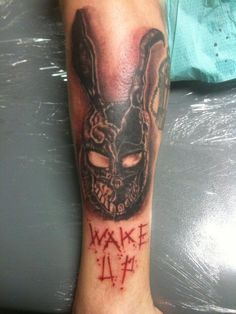 Frank from donnie darko- another fav  tattooed by robert sosa at mainline ink houston