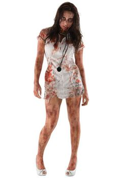 The Walking Dead Zombie Nurse Adult Costume #halloween #costumes #thewalkingdead #twd #zombies
