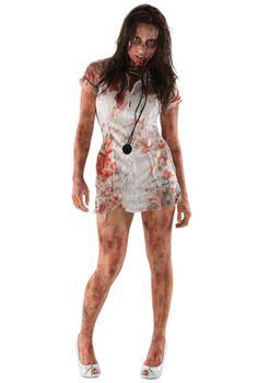The Walking Dead Zombie Nurse Adult Costume #halloween #costumes #thewalkingdead #twd #zombies