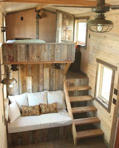 16 Tiny House Interior Design Ideas www.futuristarchi& 16 Tiny House Interior Design Ideas www.futuristarchi& The post 16 Tiny House Interior Design Ideas www.futuristarchi& appeared first on House. Tyni House, Tiny House Cabin, Tiny House Living, Tiny House Plans, Tiny House Design, Tiny House On Wheels, Small Living, Bus Living, Tiny House Bedroom