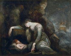 Δανάη και Περσέας στη Σέριφο Henry Fuseli (1788-90)