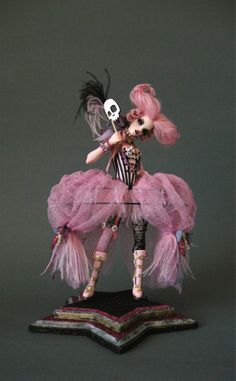 Rock Me Amedeus - Nicole West Fantasy Art. Im not typically a doll person but these are beautiful!
