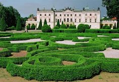 Poland - Castle in Bialystok. I spent many afternoons in this park.