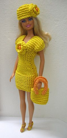 """Barbie dress """"Sun and summer"""" 